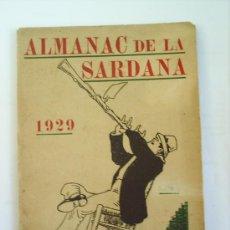 Catálogos de Música - almanacde la sardana 1929 - 22204099