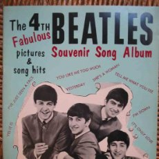 Catálogos de Música: THE FOURTH FABULOUS BEATLES. SOUVENIR SONG ALBUM. 1965. NORTHERN SONGS LIMITED. LONDON. Lote 13203077
