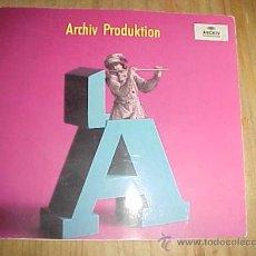 Catálogos de Música - ARCHIV PRODUKTION. INTERNATIONAL CATALOGUE. PRINTED IN GERMANY. * - 10468027