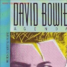 Catálogos de Música: DAVID BOWIE LIBRO J.M.ESCRIHUELLA. Lote 8989147