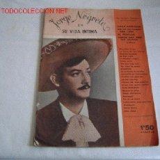 Catálogos de Música: CANCIONERO JORGE NEGRETE.. Lote 11769118