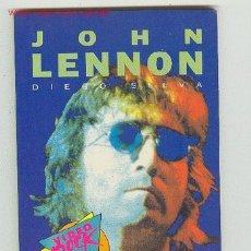 Catálogos de Música: JOHN LENNON- PEQUEÑA BIOGRAFIA - FOTOS Y LETRAS DE SUS CANCIONES. Lote 25445463