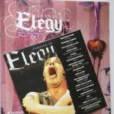 Catálogos de Música: FANZINE ELEGY IBERICA - NUMERO 6 - INCLUYE CD. Lote 17127862