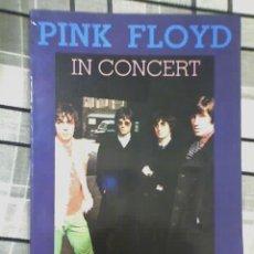Catálogos de Música: PINK FLOYD IN CONCERT - EDITORIAL DISTAL - ARGENTINA - 1991 - OFERTA!!. Lote 25979695