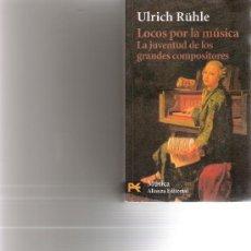 Catálogos de Música: LOCOS POR LA MUSICA - ULRICH RUHLE. Lote 15508056