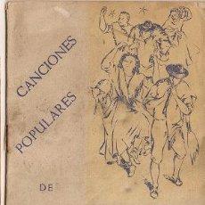 Catálogos de Música: 0032 - CANCIONES POPULARES DE NAVIDAD - EDITORIAL DURÁN- 1ª EDIC - 1945. Lote 26163877