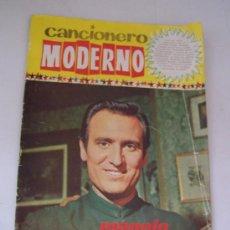 Catálogos de Música: CANCIONERO MODERNO - MANOLO ESCOBAR-EDICIONES ESTE-1965-. Lote 15826165