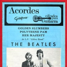 Catálogos de Música: REVISTA ACORDES, THE BEATLES , . Lote 19456129
