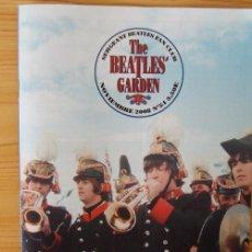 Catálogos de Música: THE BEATLE´S GARDEN - REVISTA DEL CLUB DE FANS NUMERO 54 - NOVIEMBRE 2008. Lote 16792345