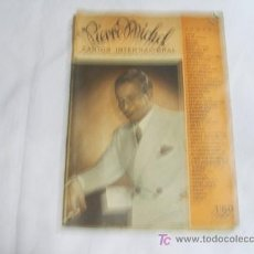Catálogos de Música: PIERRE MICHEL CANTOR INTERNACIONAL.CANCIONERO. Lote 26779125