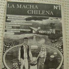 Catálogos de Música: FANZINE LA MACHA CHILENA - NUMERO 1 -. Lote 17092570