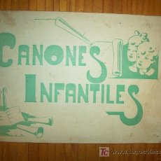 Catálogos de Música: CANONES POPULARES INFANTILES , LOGROÑO. Lote 18954426