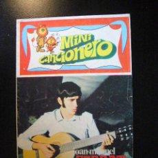 Catálogos de Música: MINI CANCIONERO JOAN MANUEL SERRAT CON FOTOS Y LETRAS.......C6. Lote 22711878