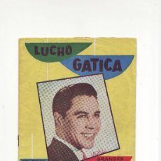 Catálogos de Música: LUCHO GATICA.EDITORIAL ALAS.CANCIONERO EXTRAORDINARIO.Nº61.. Lote 25212023