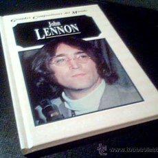 Catálogos de Música: JOHN LENNON. POR MICHAEL WHITE. GRANDES COMPOSITORES DEL MUNDO. EDELVIVES 1995. TAPA DURA.. Lote 19429964