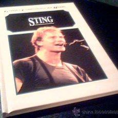 Catálogos de Música: STING. POR MARSHA BRONSON. GRANDES COMPOSITORES DEL MUNDO. EDELVIVES 1995. TAPA DURA.. Lote 19429977