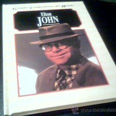 Catálogos de Música: ELTON JOHN. POR JOHN O'MAHONY. GRANDES COMPOSITORES DEL MUNDO. EDELVIVES 1995. TAPA DURA.. Lote 19429995