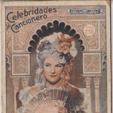 Catálogos de Música: IMPERIO ARGENTINA CELEBRIDADES DEL CANCIONERO,EDITORIAL ALAS. Lote 19559565