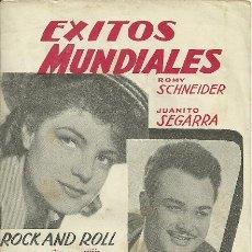 Catálogos de Música: ROMY SCHNEIDER / JUANITO SEGARRA CANCIONERO 20 PAGINAS . Lote 20713312