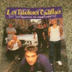 Catálogos de Música: LOS FABULOSOS CADILLACS, POR TONI LIMONGI - EDICIONES LA MASCARA - ESPAÑA - 1999. Lote 20971965