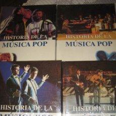 Catálogos de Música: ENCICLOPEDIA DE LA MUSICA POP - CUATRO TOMOS PRECINTADOS - SALVAT. Lote 21437650