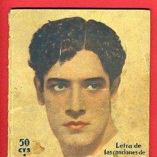 Catálogos de Música: CANCIONERO JOSE MOJICA . Lote 21570685