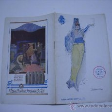 Catálogos de Música: TEATRO REAL .TEMPORADA 1920-1921.PROGRAMA.UN BAILE DE MÁSCARAS.DESPEDIDA DE JOSÉ PALET.ARTURO SACO. Lote 23311929