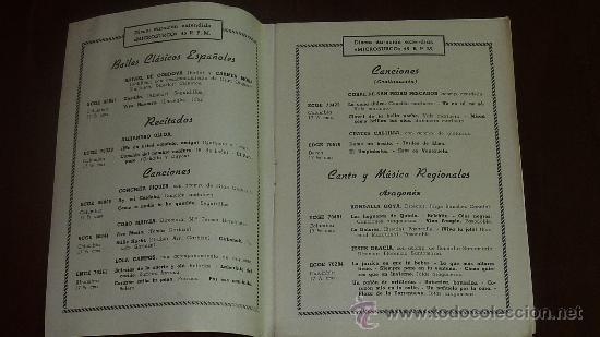 Catálogos de Música: Catalogo Nuevos discos. variedad. suplemento nº7. Mayo 1957 - Foto 2 - 24566090