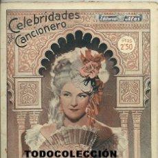Catálogos de Música: IMPERIO ARGENTINA CANCIONERO 72 PAGINAS CON FOTOS.. Lote 24594384