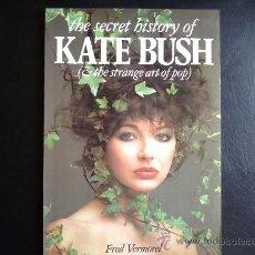 Catálogos de Música: KATE BUSH THE SECRET HISTORY - LIBRO EN INGLÉS. Lote 27628517
