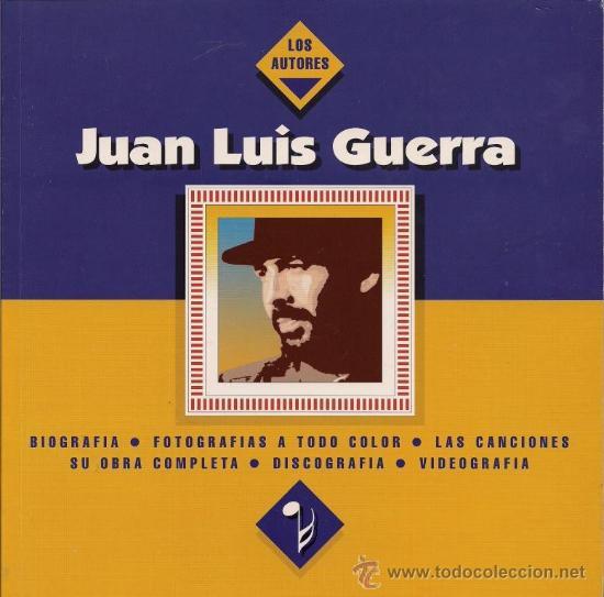 JUAN LUIS GUERRA - (INCLUYE CD SINGLE) - 1993 (Música - Catálogos de Música, Libros y Cancioneros)