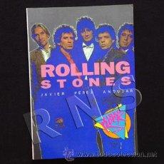 Catálogos de Música: LIBRO ROLLING STONES - BIOGRAFÍA DISCOGRAFÍA MÚSICA ROCK GRUPO BRITÁNICO P. ANDÚJAR FOTOS SALVAT. Lote 25130572