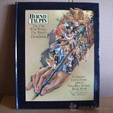 Catálogos de Música: BERNIE TAUPIN --- LIBRO THE ONE WHO WRITES THE WORDS FOR ELTON JOHN . Lote 26394716