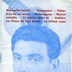 Catálogos de Música: JOSÉ LUIS Y SU GUITARRA.- EDITORIAL ALAS Nº 31.- 16 HOJAS, TAMAÑO 10,5 X 15,3 CM.. Lote 27298325