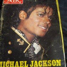 Catálogos de Música: ABC-11 DE MARZO 1984-MICHAEL JACKSON-CON POSTER CENTRAL Y 8 PAG DEDICADAS A EL. Lote 27899871