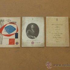 Catálogos de Música: LOTE DE 5 CATALOGOS DE GRAN TEATRO DEL LICEO. DE 1958 A 1961. BARCELONA. . Lote 28589548