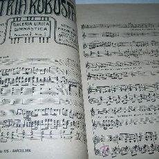 Catálogos de Música: GALERÍA LÍRICA GIMNÁSTICA, PROGRAMA I, Nº. 1 AL 7.- LIBRERÍA SALESIANA-S/F.- BARCELONA. Lote 29117192