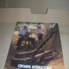 Catálogos de Música: CERTAMEN INTERNACIONAL DE BANDAS DE MUSICA. VALENCIA DEL 8 AL 14 DE JULIO DE 1991.. Lote 29322762