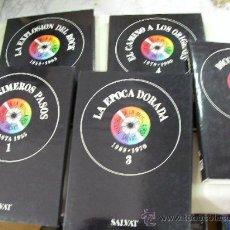 Catálogos de Música: HISTORIA DE LA MUSICA POP SALVAT 5 VOUMENES. Lote 56395874