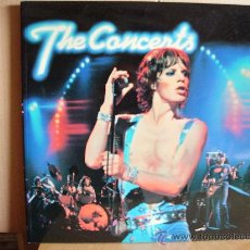 Catálogos de Música: LIBRO THE CONCERTS ---- ROLLING STONES,BOB DYLAN,PINK FLOYD,THE WHO, YES...... Lote 29401880