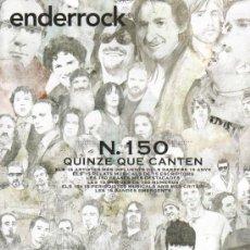 Catálogos de Música: REVISTA LIBRO DE ENDERROCK - Nº 150 ABRIL 2008 ESPECIAL 15 ANYS. Lote 29688395