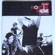 Catálogos de Música: THE ROLLING STONES SCORSESE CATALOGO OFICIAL FENDER. Lote 29746276