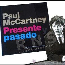 Catálogos de Música: PAUL MCCARTNEY PRESENTE PASADO FOTOS BIOGRAFÍA CANTANTE THE BEATLES MÚSICA ROCK FOTOGRAFÍA LIBRO. Lote 29797398