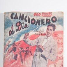 Catálogos de Música: CANCIONERO AL DIA, 100 CANCIONES MODERNAS - RECOPILACIÓN DE ANTONIO LOSADA -EDICIONES BISTAGNE. Lote 30534753