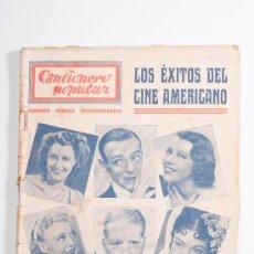 Catálogos de Música: CANCIONERO POPULAR - SEGUNDO NUMERO EXTRAORDINARIO, LOS ÉXITOS DEL CINE AMERICANO - EDITORIAL ALAS. Lote 30585743