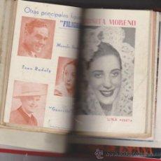 Catálogos de Música: ANTOÑITA MORENO. 12 CANCIONEROS ENCUADERNADOS EN TOMO DE LUJO SIN GUILLOTINAR.. Lote 31109420