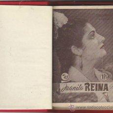 Catálogos de Música: JUANITA REINA. 10 CANCIONEROS ENCUADERNADO EN TOMO DE LUJO SIN GUILLOTINAR.. Lote 31109492