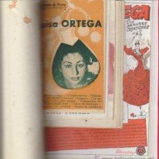 Catálogos de Música: LUISA ORTEGA Y CARACOL. 6 CANCIONEROS Y 3 PROGRAMAS ENCUADERNADOS EN TOMO LUJO.. Lote 31116993