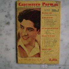 Catálogos de Música: CANCIONERO POPULAR JOSE MOJICA.EDITORIAL ALAS 1932.. Lote 31153332