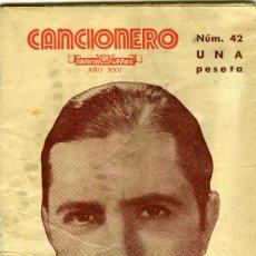 Catálogos de Música: CARLOS GARDEL. HOMENAJE A SU MEMORIA, BARCELONA, ED. ALAS, S. F. (H. 193. Lote 31228511